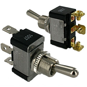 3 Terminal SPDT Toggle Switches | Toggle Switches | ElecDirect