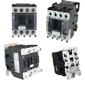4 Pole Contactors AC Coil | ElecDirect  Pole Contactor No Nc Wiring Diagram on