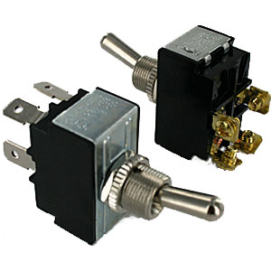 Toggle Switches | 4 Terminal DPST Toggle Switches | ElecDirect