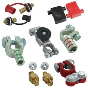Wingnut Post Battery Terminal Connectors Lorry Stud /& Nut Car Clamps