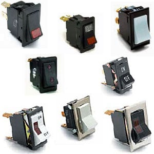 Cole Hersee Rocker Switches