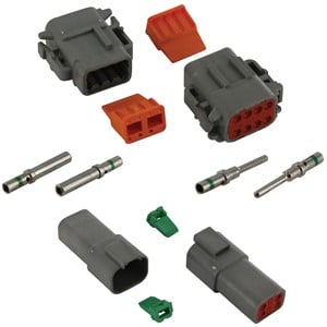 Crimp Wire Terminals Electrical Connectors Elecdirect Flat Car End Wiring Connector Deutsch