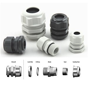Cord Grips | Strain Relief Connectors | Cable Glands | ElecDirect