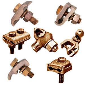 Ground Wire Clamp | Ground Clamps Flat Bar Grounding Clamps Elecdirect