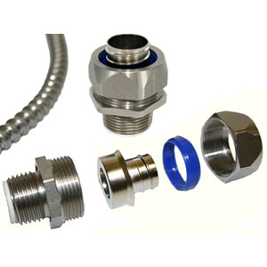 Stainless Steel Liquid-Tight Conduit Connectors