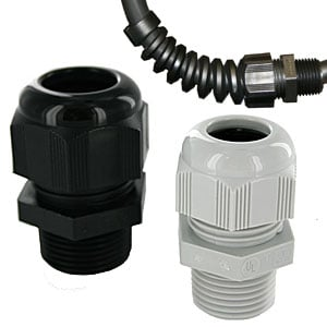 Nylon Dome Strain Relief Connectors