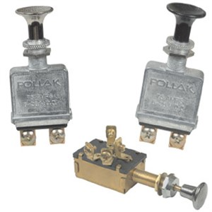 Pollak Push-Pull Switches
