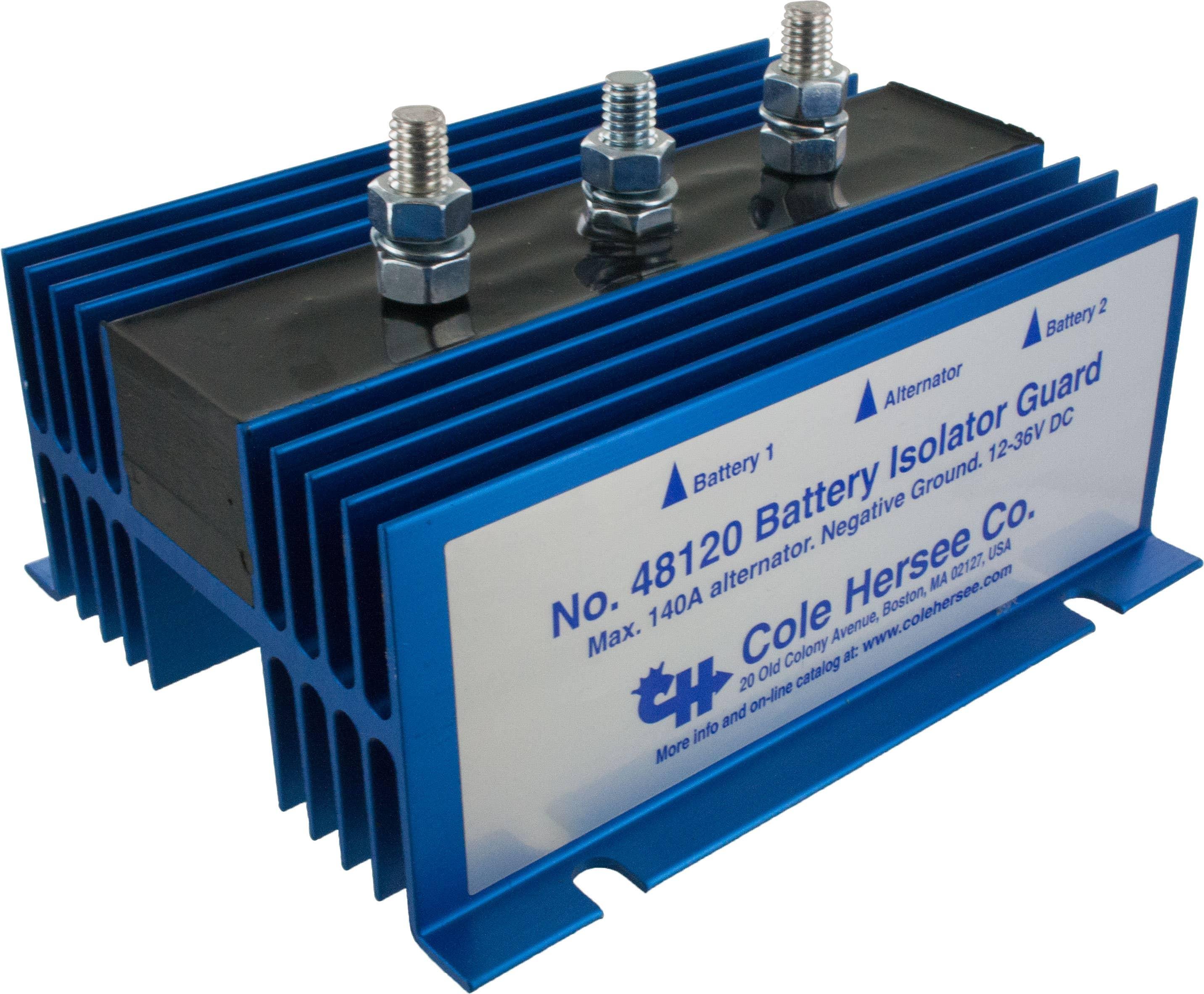 Cole Hersee 48120 Battery Isolator Elecdirect Marine Further 2 Alternator 3 Wiring