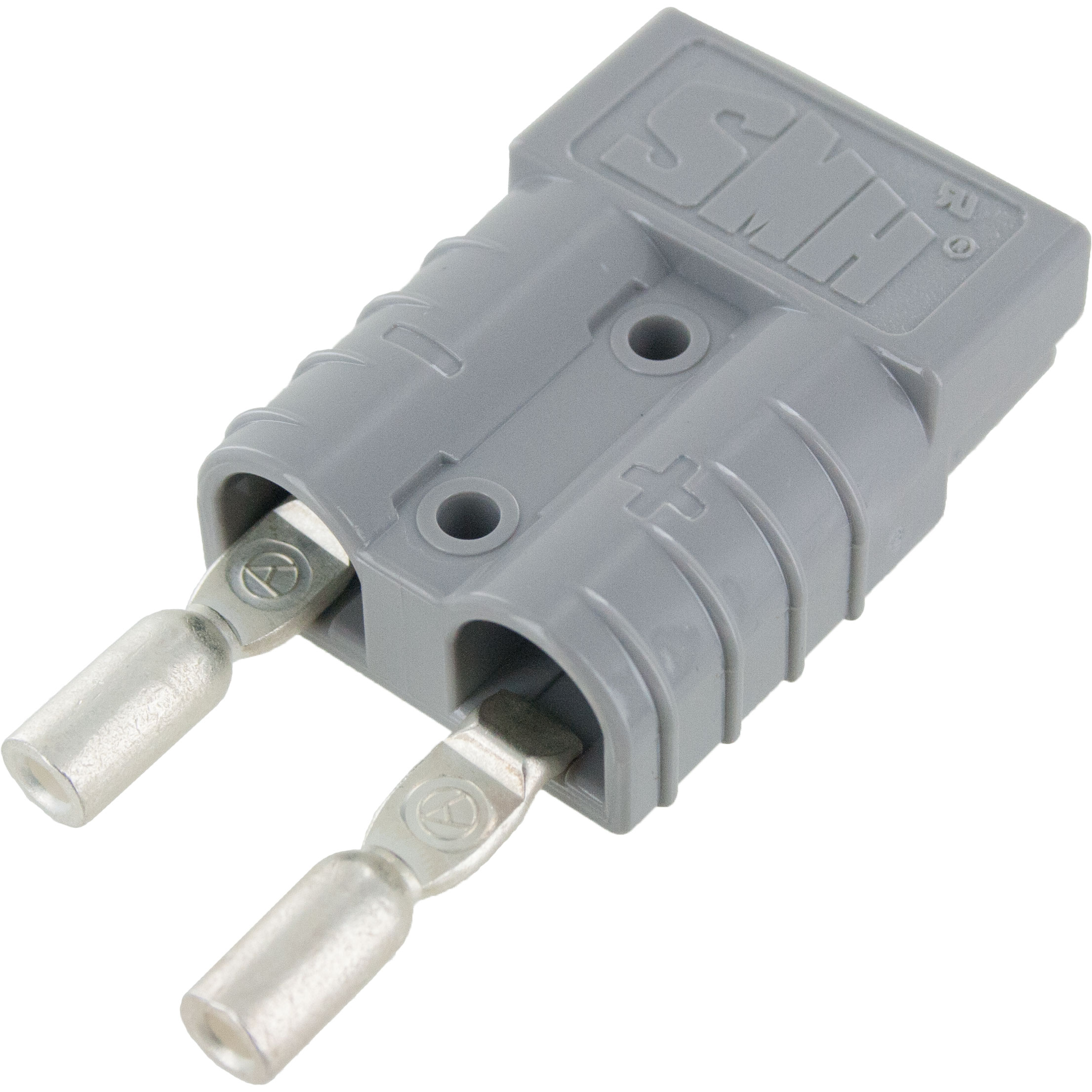 Battery Connector Kit 12-10 Awg 50 Amp Grey | ElecDirect