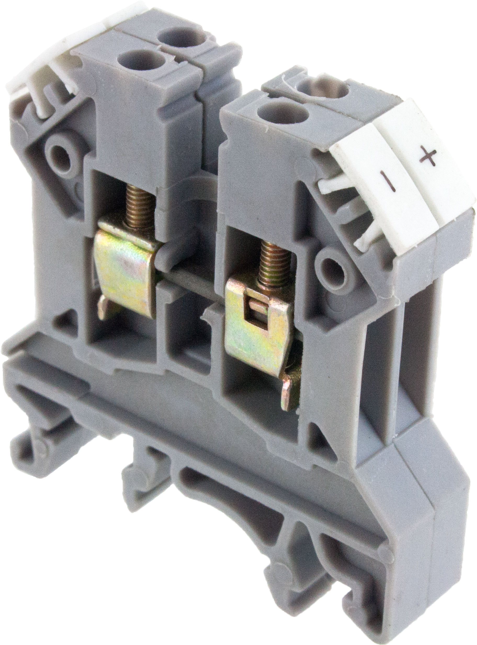 Gray Thermocouple Terminal Block Type K Ctt25uk Elecdirect 110 Wiring Uk