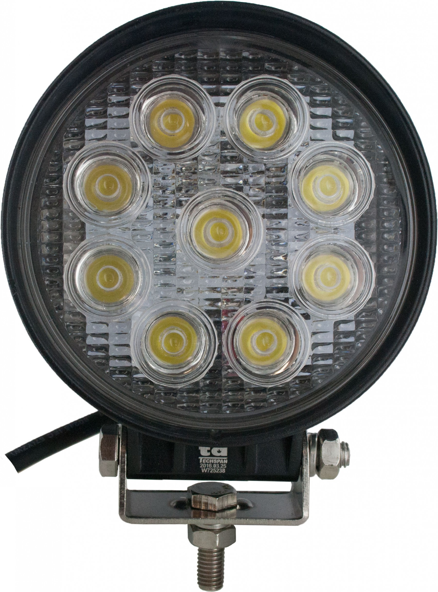 Led Lights For Utility Tractors : Round tractor utility lamp led lumens watts