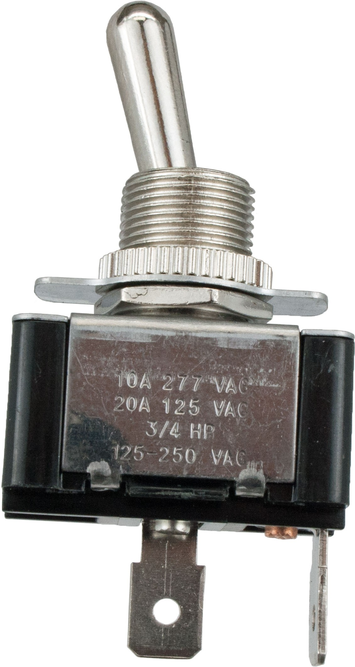 2 Blade Terminal Toggle Switch ON-OFF SPST | 765047 | ElecDirect