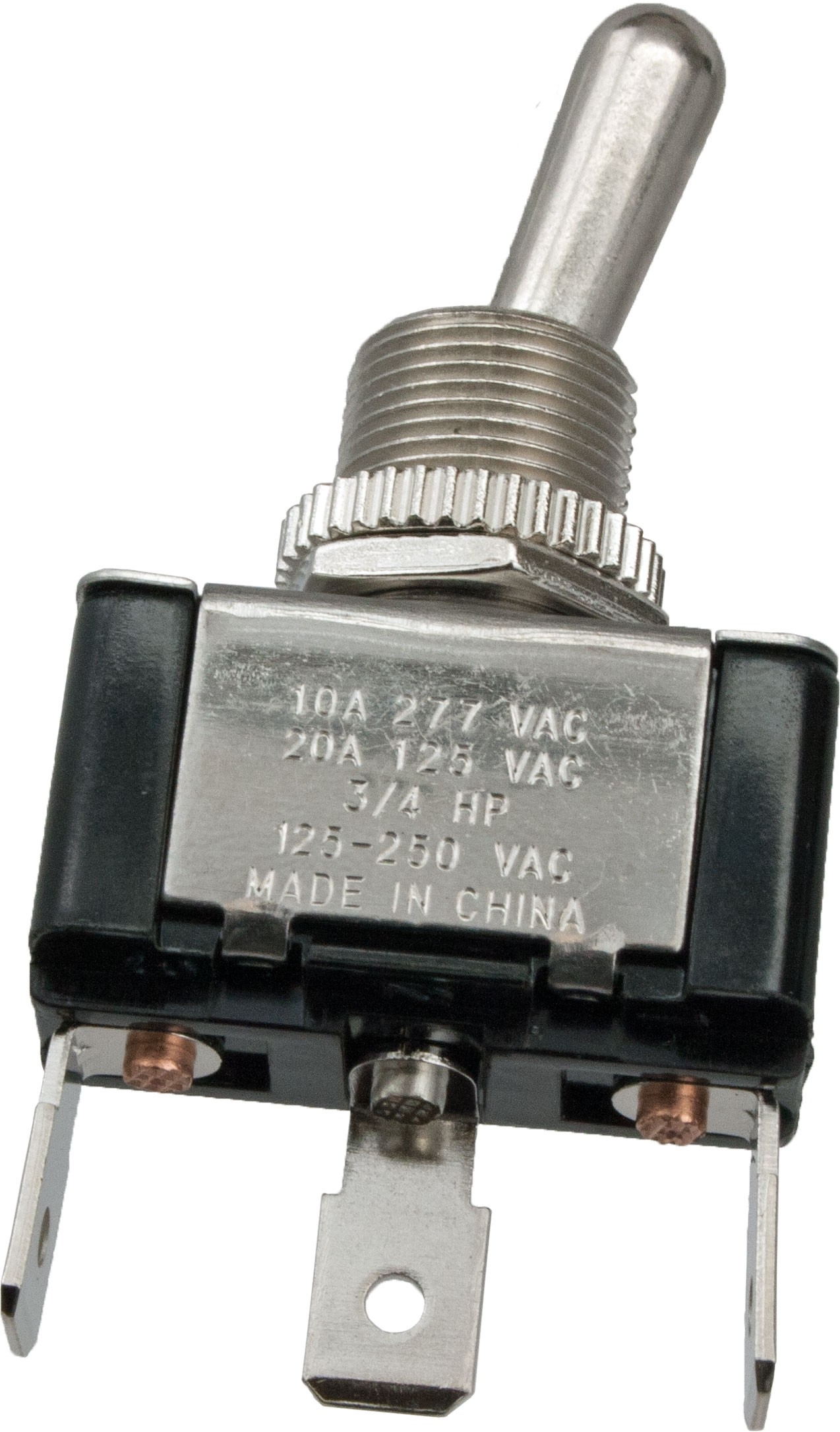 3 Blade Terminal Toggle Switch ON-OFF-ON SPDT | 765056 | ElecDirect