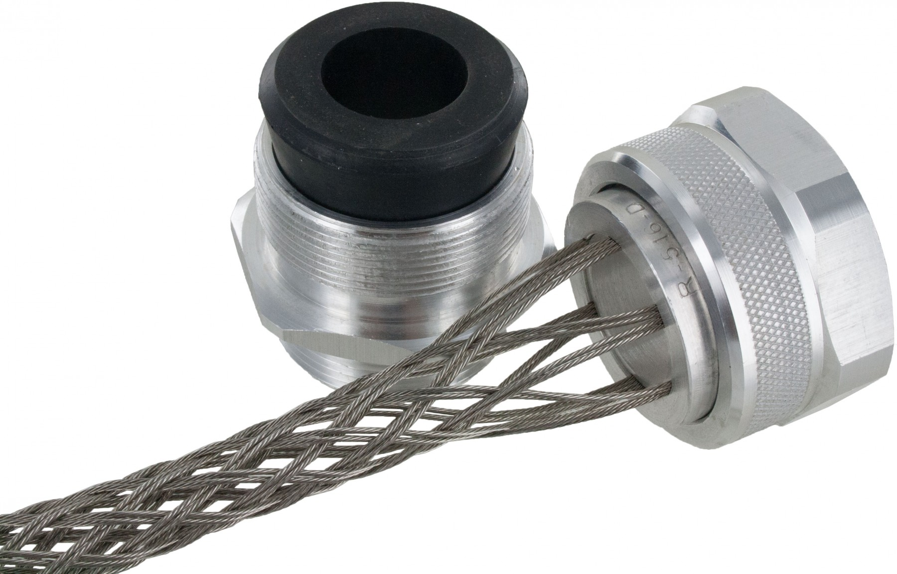 1 1 2 Quot Npt Cord Grip With Mesh Rsr 5627 E Elecdirect
