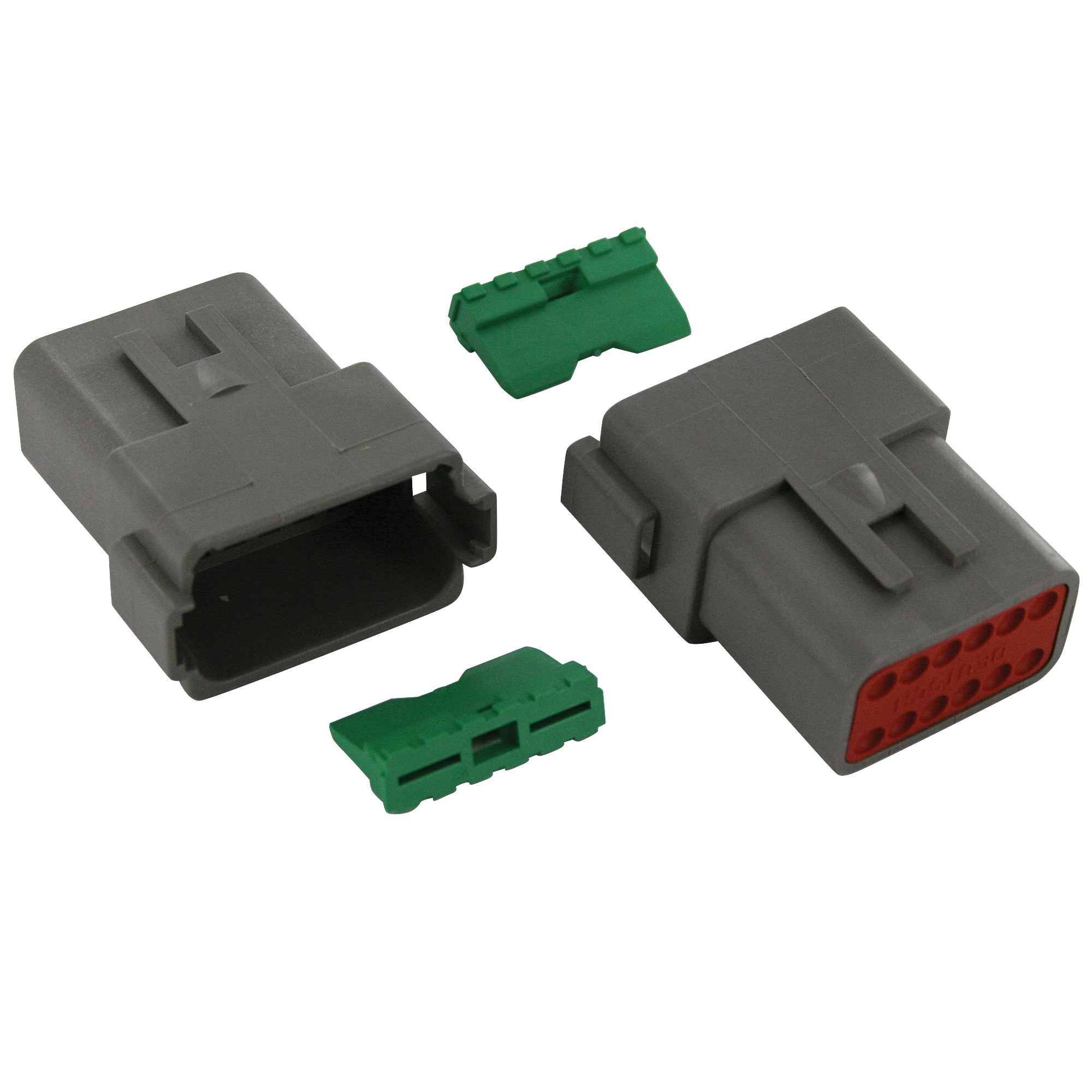 Dt Series 12 Way Deutsch Dt04 12p W12p Hg Wl 1 Set Elecdirect Wiring Connectors