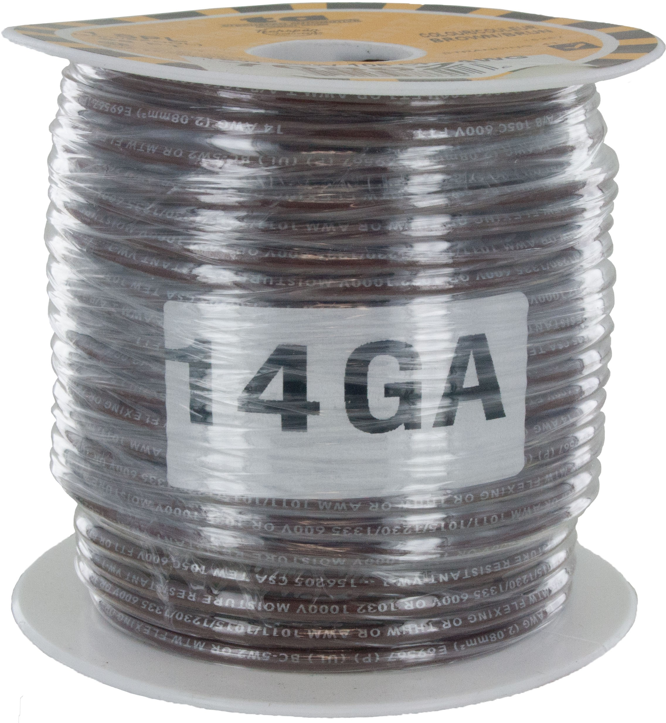 MTW Stranded Wire 14 Awg Brown   ElecDirect