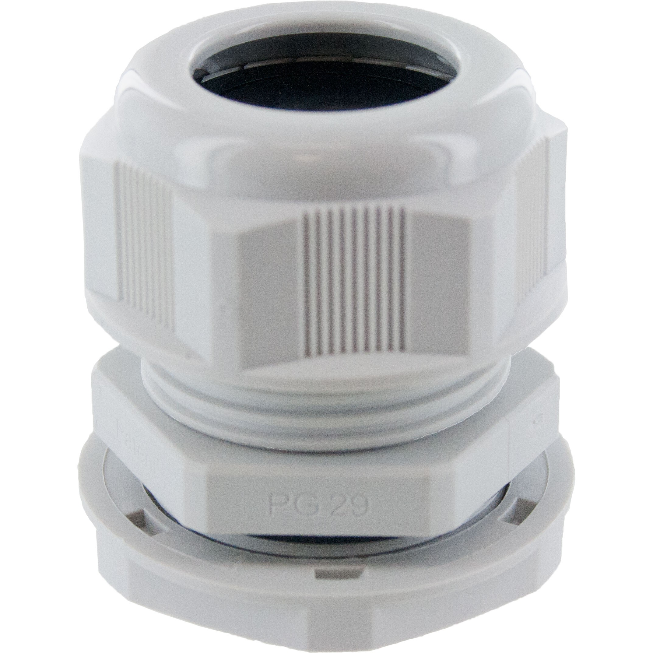 Pg29 Nylon Dome Cap Cable Gland Rdc29ar Gr Elecdirect Pollak Lightduty Toggle Switch Onoff 12 Volt 10 Amp 6quot Wire Gray