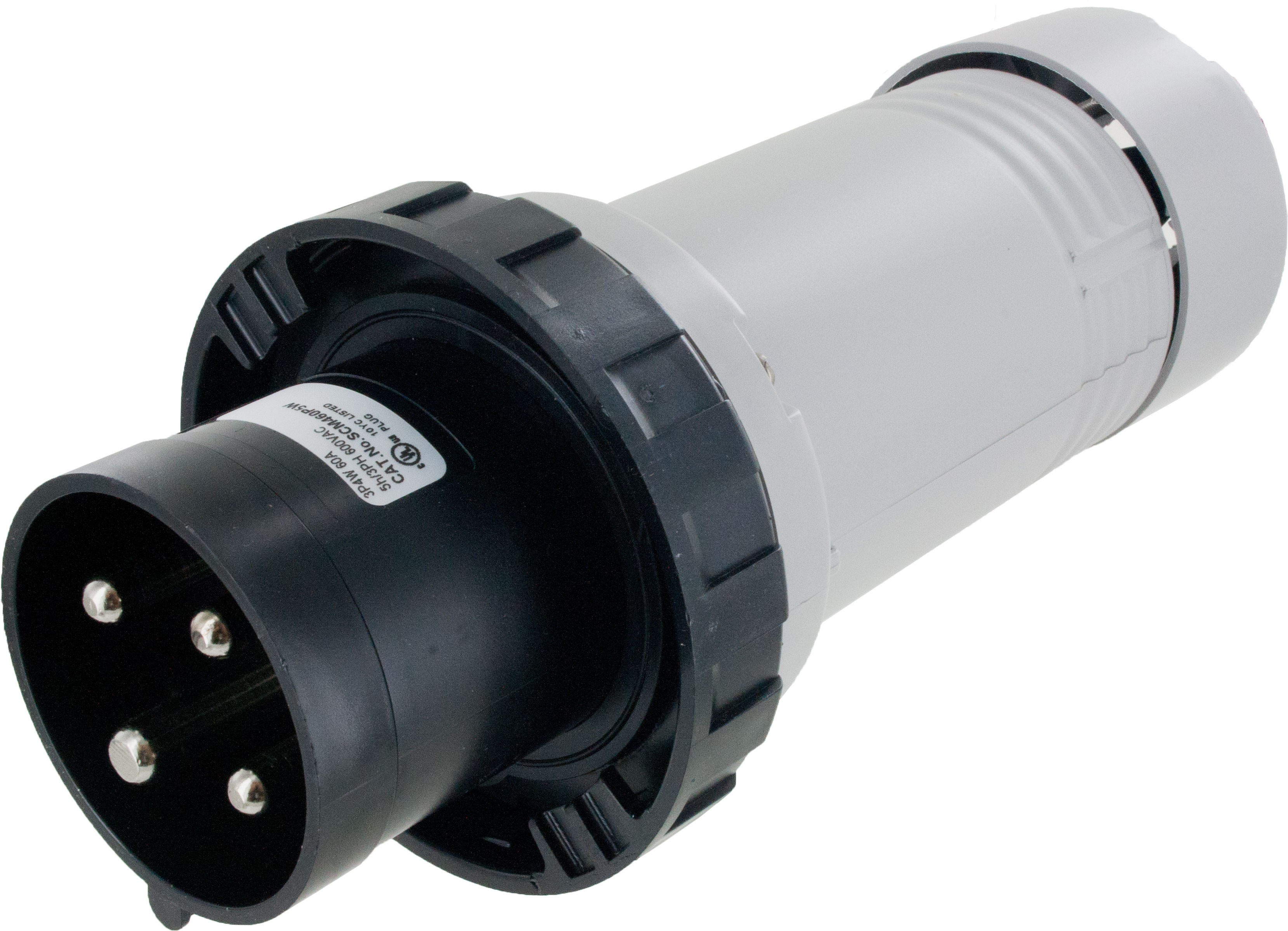 460P5W Pin And Sleeve Plug 60 Amp 3 Pole 4 Wire | ElecDirect