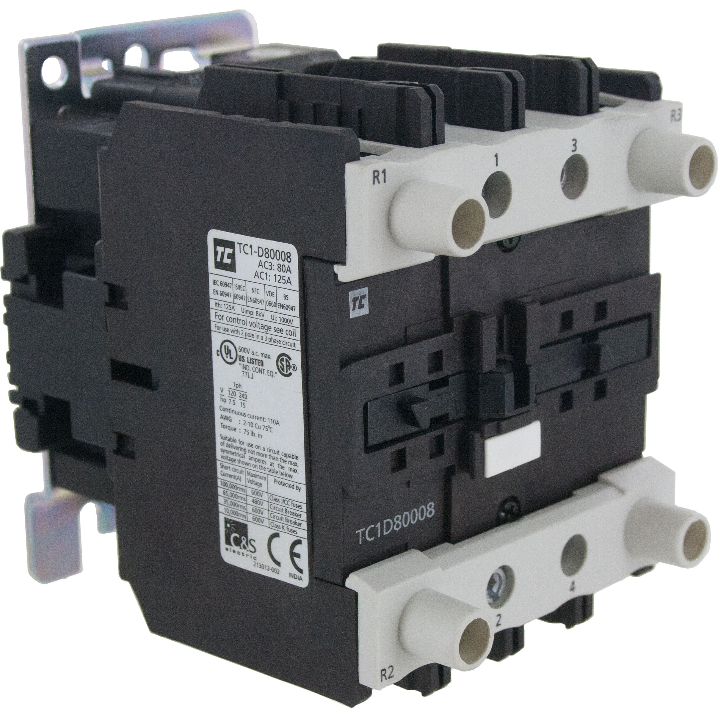 80 Amp Breaker Fuse Box 100 Wiring Diagrams 4 Pole Contactor N O 120 Volt Ac Coil Elecdirect Trailer 110v Boxes