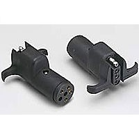 6-POLE ROUND TO 4-POLE MOLDED CONNECTOR