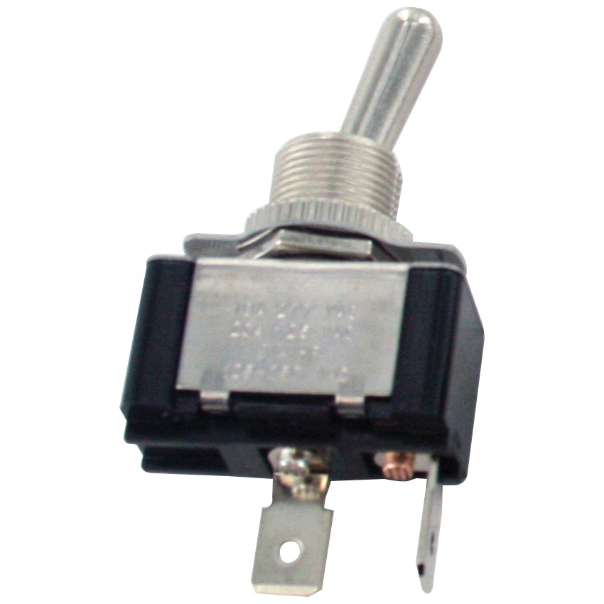 2 Blade Terminal SPST Toggle Switch