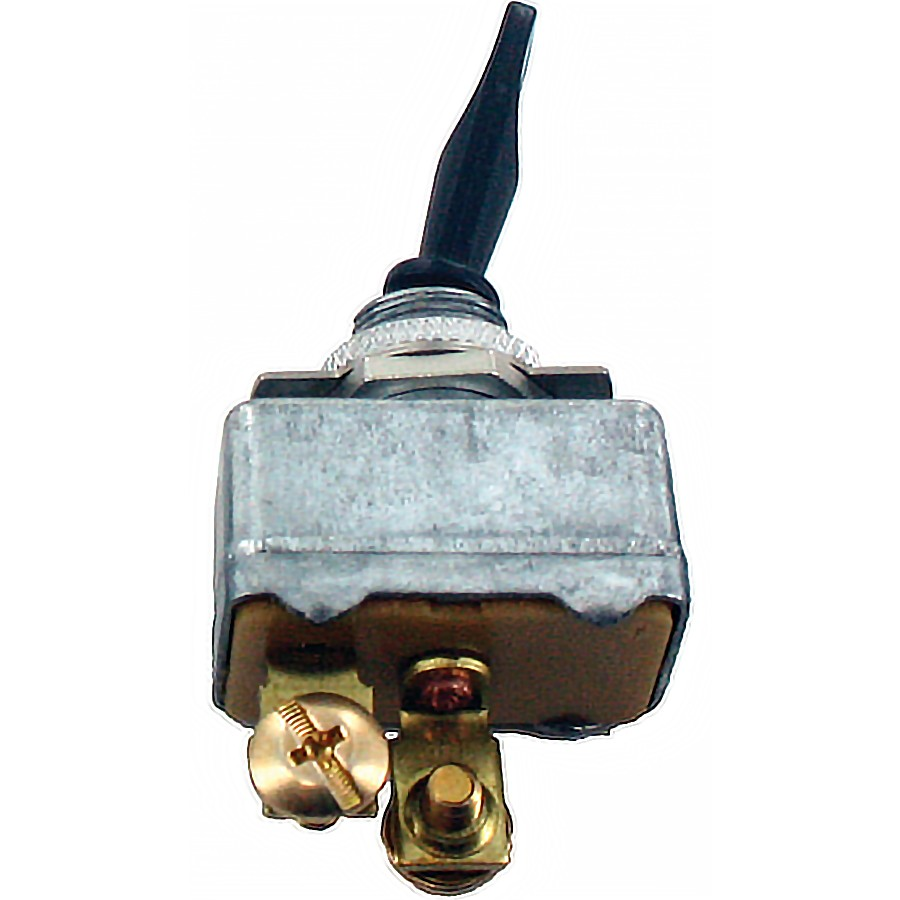50Amp Toggle Switch ON/OFF SPST Black Handle