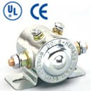 SPST, CONTINUOUS DUTY, 36A@36VDC, INSULATED, 4STUD, UL & CE RATED