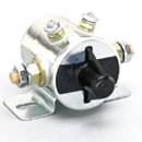 DPST, CONTINUOUS DUTY, 12V, INSULATED,  110A CARRY ONLY, 4STUD, LATCHING