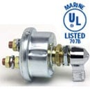 SINGLE POLE, OFF-ON, 6-36VDC, W/LEVER, SILVER CONTACTS, UL LISTED