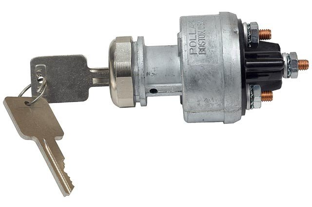 4-Position Ignition Switch With Momentary Start