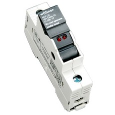 1 Pole Fuse Holder Class CC Fuses with LED Indicating Light