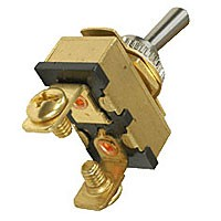 Toggle Switch 2 Screws SPST On-Off