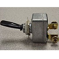 Toggle Switch Black Handle SPST On-Off 34-219