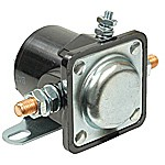 INTERMITTENT DUTY, 12-V INSULATED BASE, FLAT BRACKET, 85 AMPS