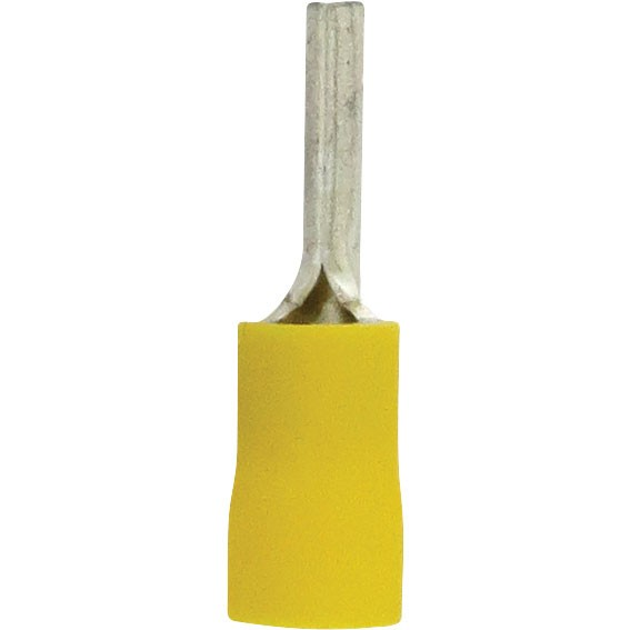 Pin Terminal 12-10GA PVC Yellow