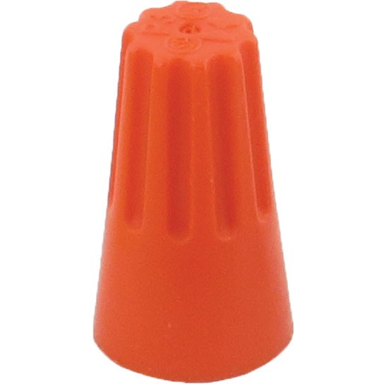 Screw-On Wire Termination Connectors 22-14 AWG Orange