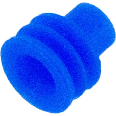 Delphi 12015193 OEM 12-10 Awg Blue Silicone Seal 100 Pack Angle