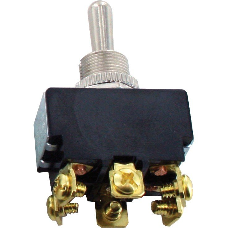 6 Screw Terminal Toggle Switch ON-ON DPDT