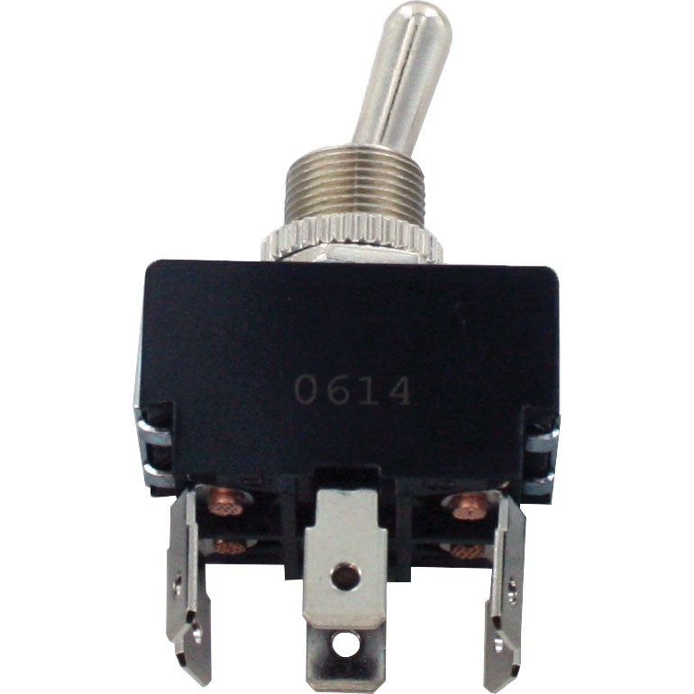 6 Blade Bulk Terminal Toggle Switches ON-OFF-ON DPDT