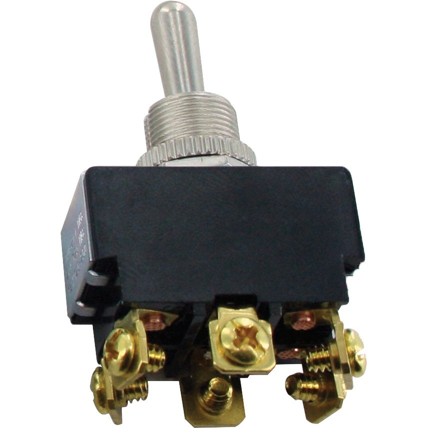 6 Screw Terminal Toggle Switch Momentary MOM-ON-OFF-MOM-ON DPDT