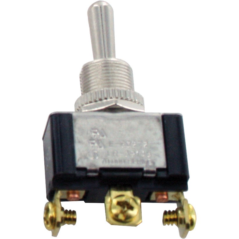 3 Screw Terminal Toggle Switch Momentary ON-OFF-MOM SPDT
