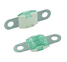 BOLT-ON MID AMP SIZE FUSES, 40 AMP GREEN 25PK