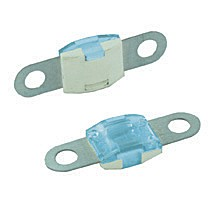 BOLT-ON MID AMP SIZE FUSES, 100 AMP BLUE 25PK