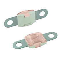 BOLT-ON MID AMP SIZE FUSES, 125 AMP PINK 25PK