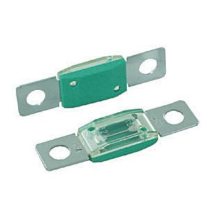 BOLT-ON HIGH AMP SIZE FUSES, 125 AMP GREEN