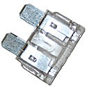 25 Amp ATC Standard Blade Fuse Clear