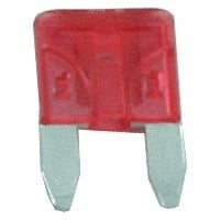 10 Amp Mini Blade Fuses Red