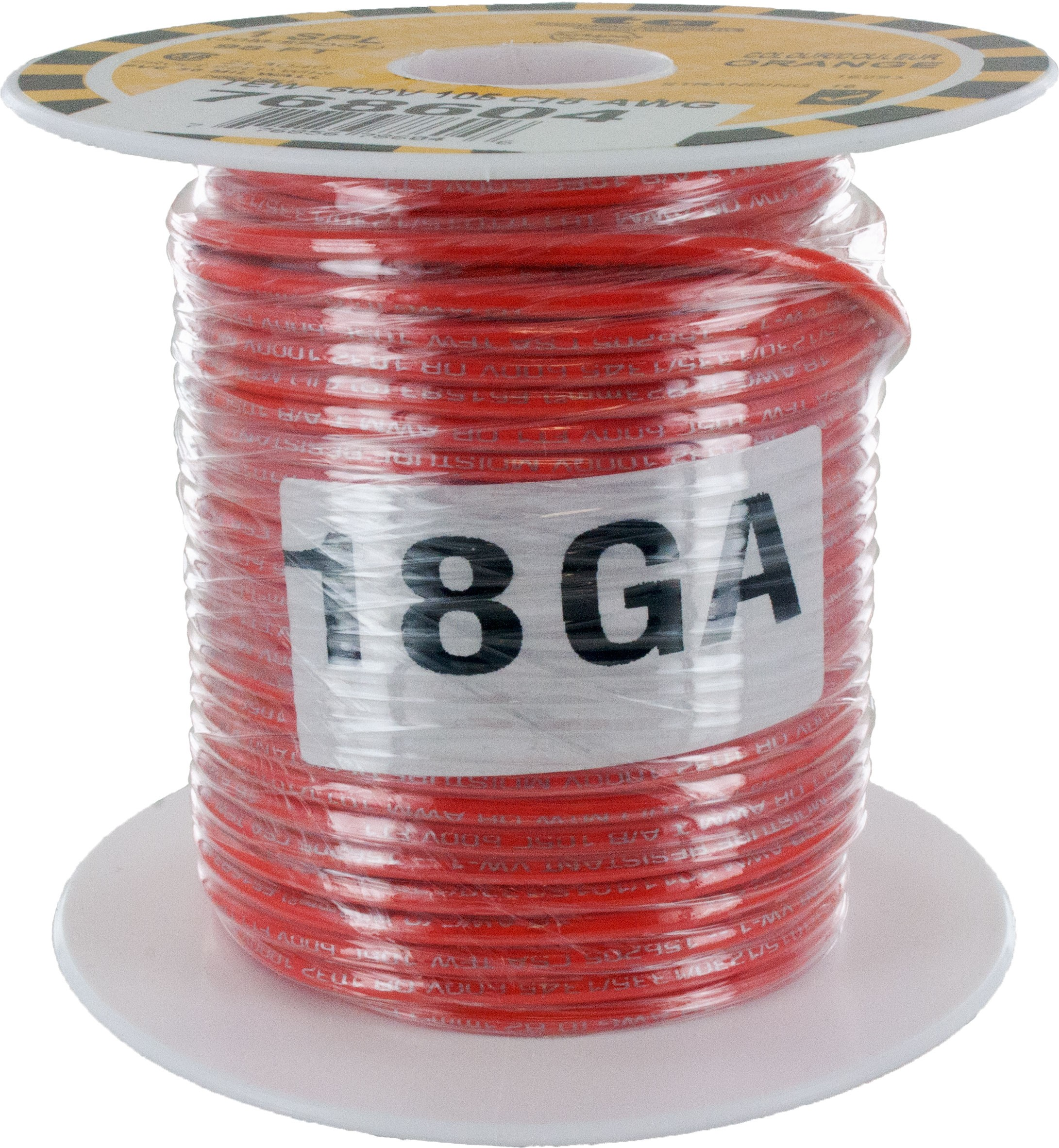 MTW TEW Equipment Wire 18 Awg Orange