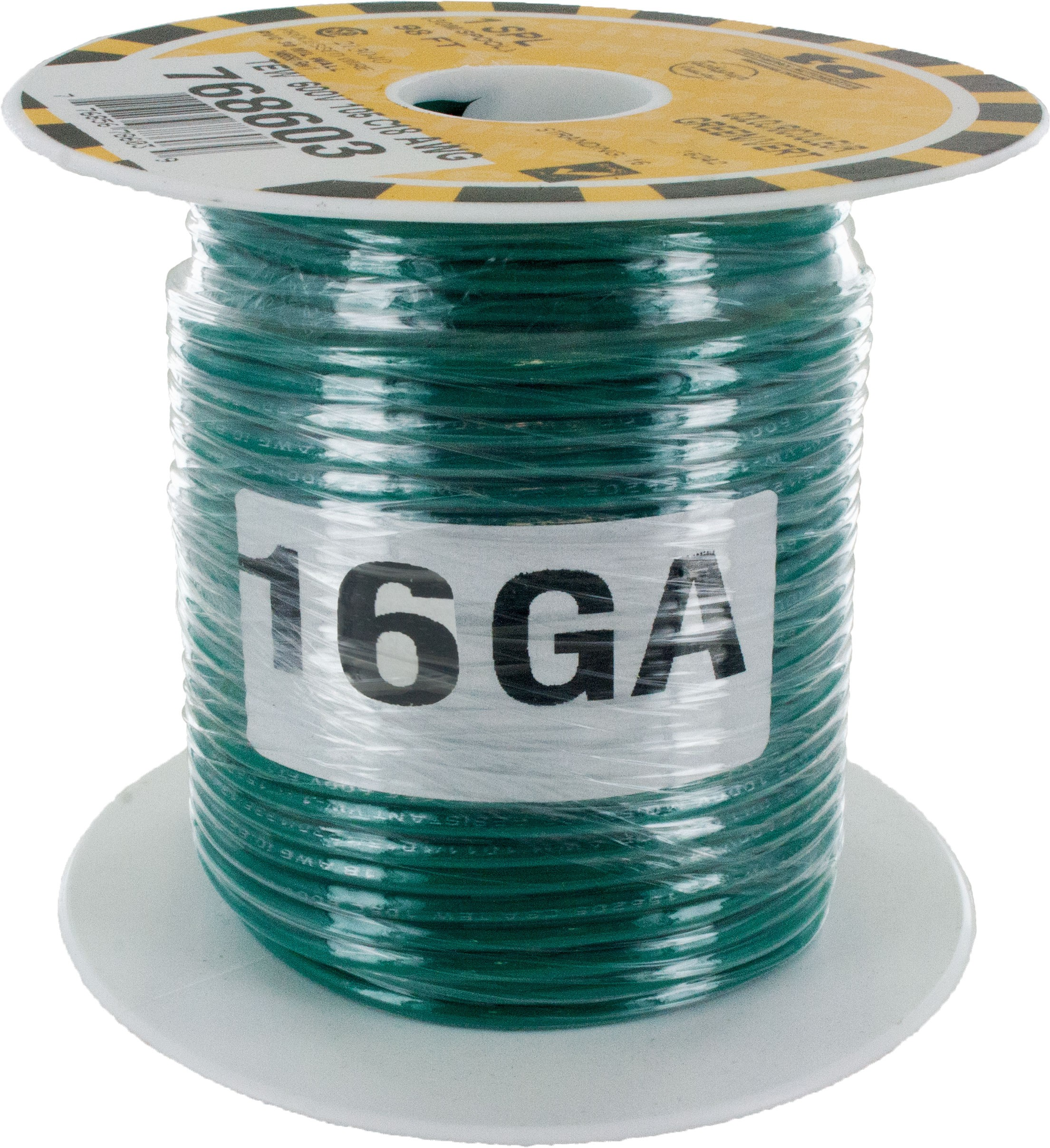 MTW Stranded Wire 16 Awg Green