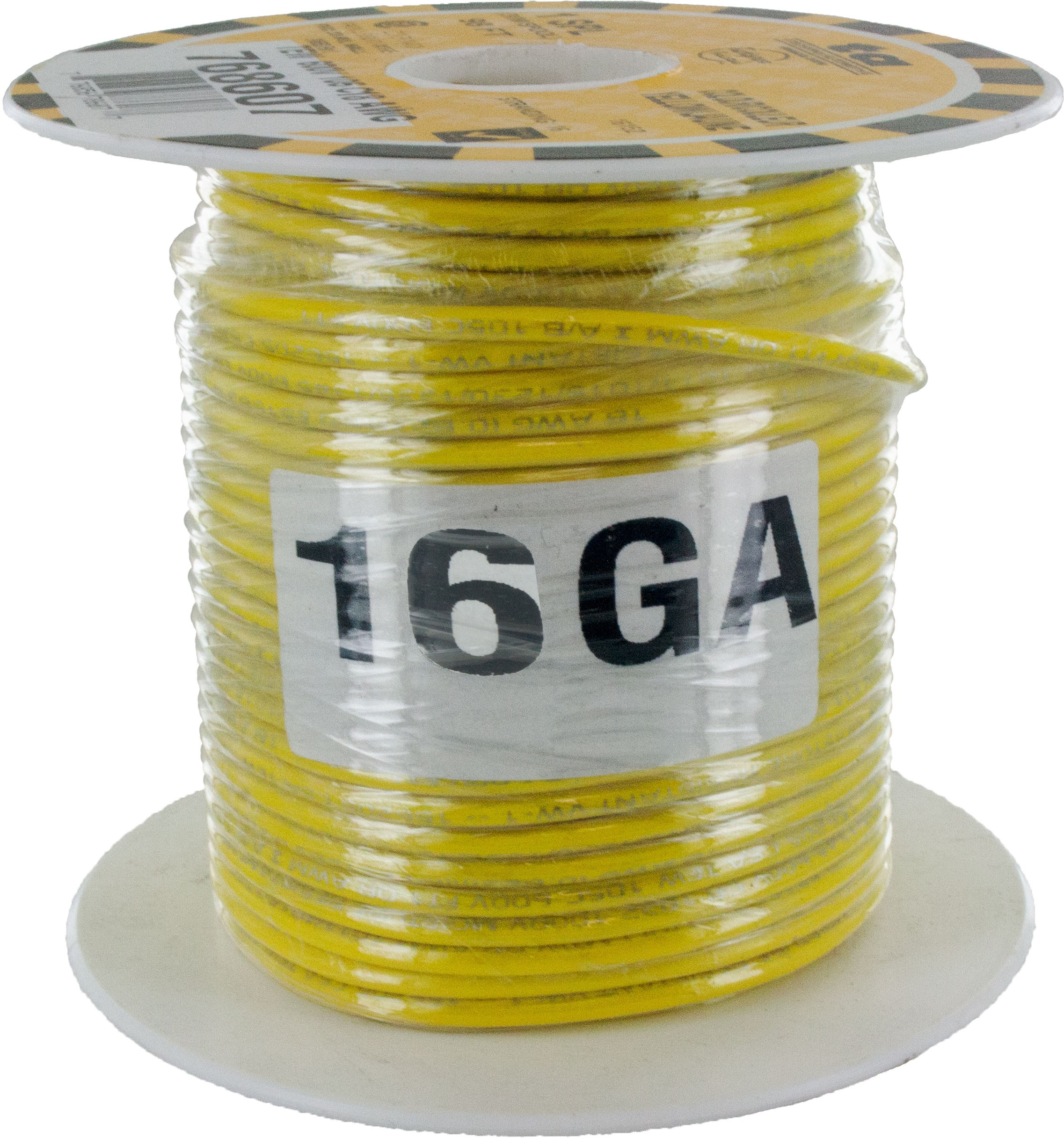 MTW Stranded Wire 16 Awg Yellow